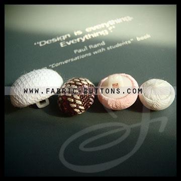 Embossed buttons