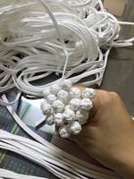 Hand-made Chinese knot button  color: white