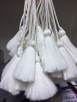 Hand-made tassel for clothing decoration