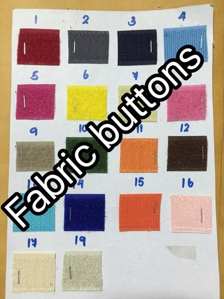 Velcro tape color samples